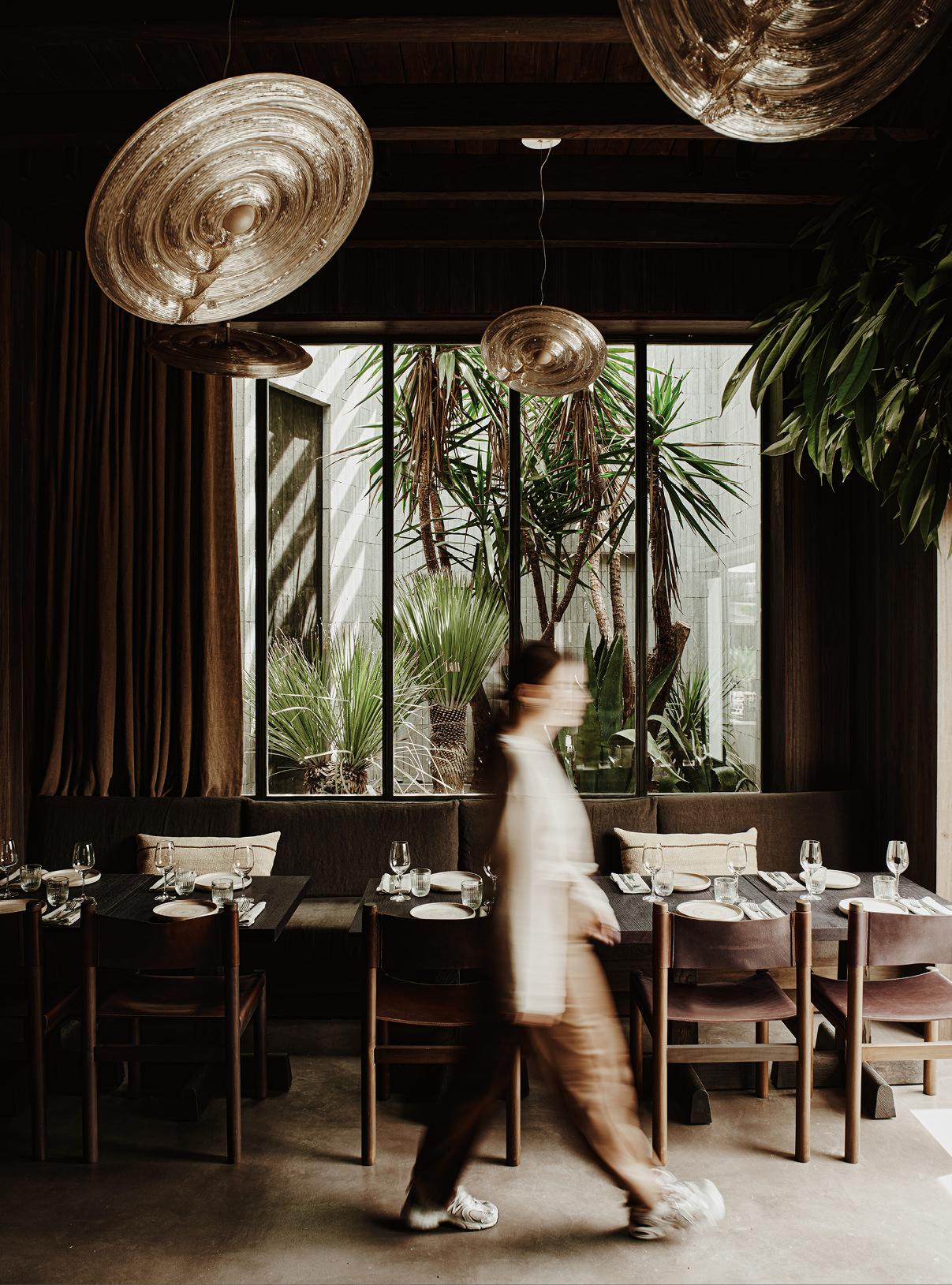 Noema Restaurant & Bar Mykonos designed by Lambs and Lions Berlin, Interior design Salon